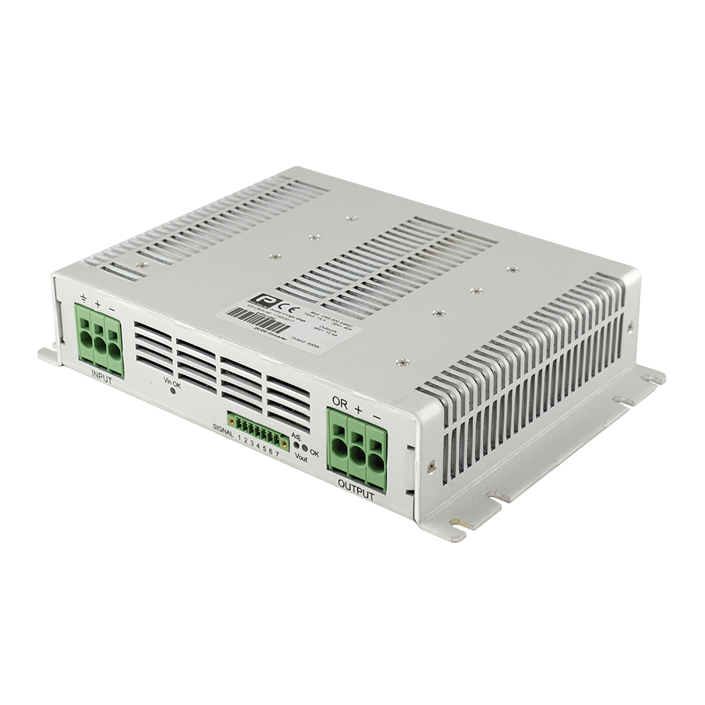 Industrial and Railway 500W DC/DC converters