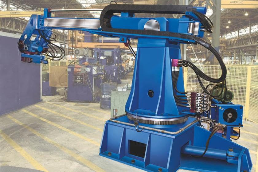 Feeding an AGV industrial robot with a 3ph inverter